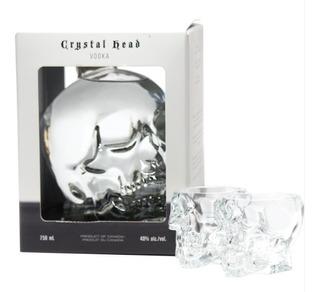 Vodka Crystal Head 1,75 + 2 Shots Calavera- Retiro X Palermo