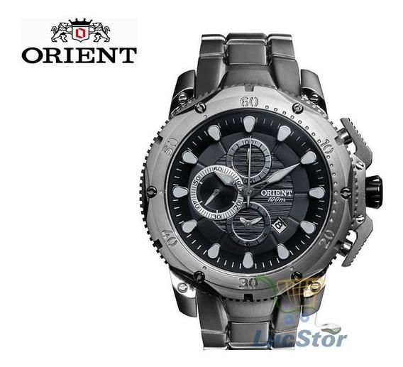 Relogio Orient Mbttc011 Titanium Cronografo Masculino