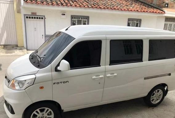 2018 Mini Vans Foton 6 Pasajeros Más Conducto