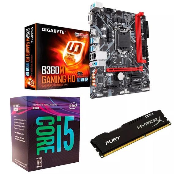 C79 Combo Actualización Pc Intel I5 9400 B360 8gb Cuotas