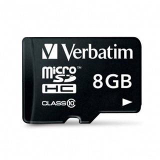 Tarjeta De Memoria Micro Sd 8 Gb Clase 10 Verbatim 44081