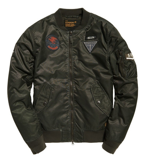 Chamarra Superdry Limited Edition Flight Bomber Jacket...