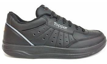 Topper X Forcer Cuero Bco O Negro 21871/ 2 -yandi Depórtes