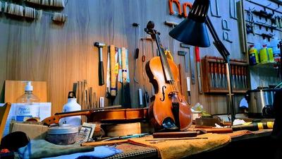 Luthier Profissional Ajuste E Conserto Violinos