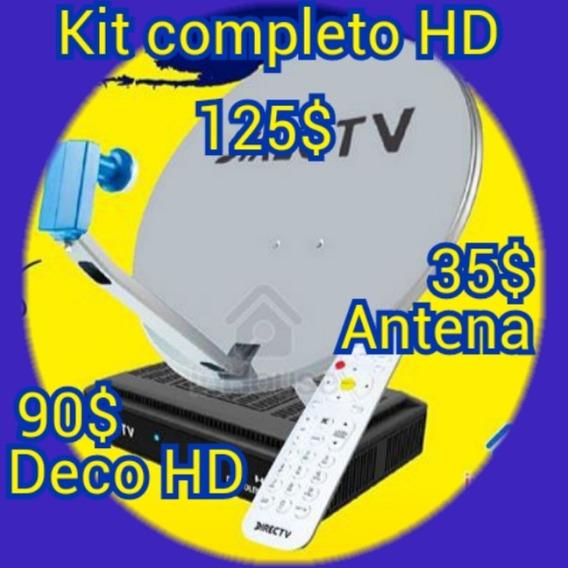Kit De Directv Prepago Decodificador Venezolano (90 Verdes)