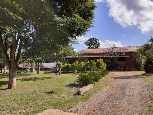 Chácara Com 2 Dormitórios À Venda, 3067 M² Por R$ 900.000,00 - Monte Líbano - Araçoiaba Da Serra/sp - Ch0052