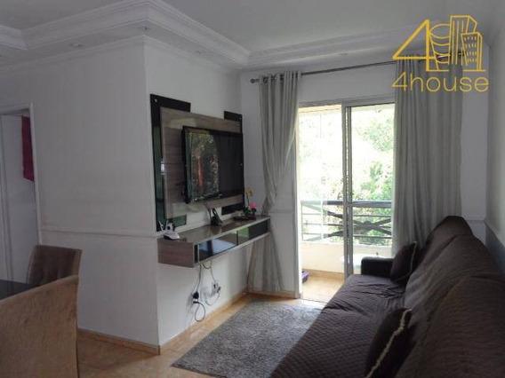 Butantã - Apartamento Com Varanda 52m² 03 Dormitórios 01 Vaga Na Av Eng Heitor Antonio Eiras Garcia Para Venda. - Ap2379