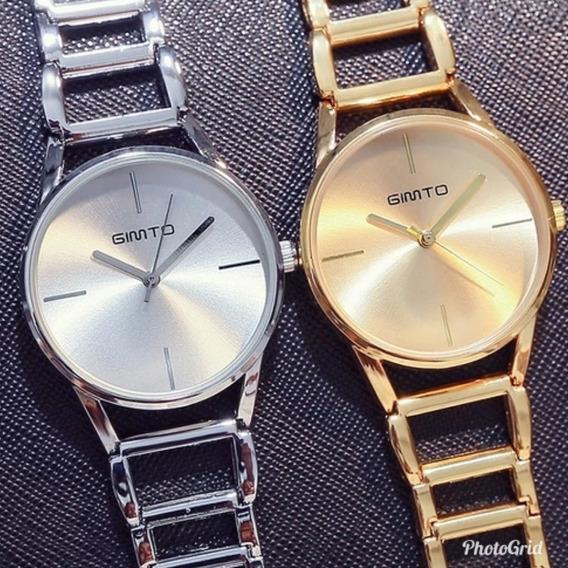 Relógio Importado Original Gimto Fashion À Prova D
