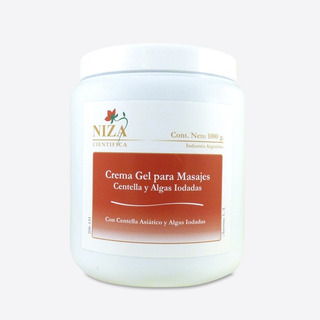 Crema Gel Para Masajes X 1 Kg P/prof