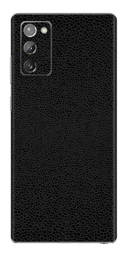 Imagem 1 de 1 de Película Skin Galaxy Note 20 (6.7) Kingshield 3d Couro-preto