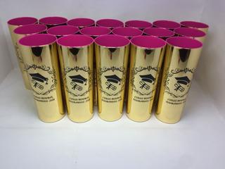 Kit 40 Copos Long Drink Metalizados Coloridos Personalizados
