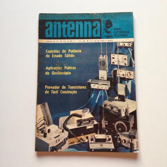 Revista Antenna Nº 01 Janeiro De 1971 Contrôles De Pôtencia