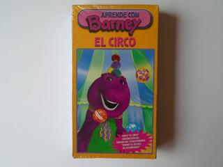 Barney El Circo Vhs 2001 Tycoon