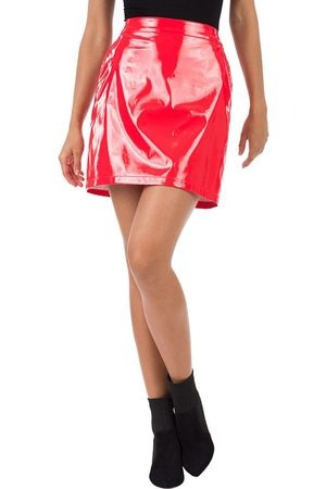 Falda Ivonne Petite Red Velvet Talla 8