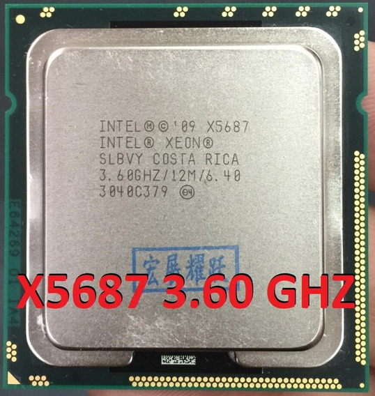 Processador Intel Xeon X5687 3.86 Ghz Turbo Igual I7 4770 !