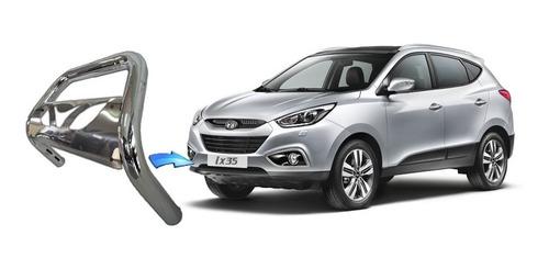 Parachoque De Impulsão Chapa Cromado Hyundai Ix35