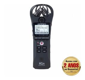 Gravador Digital Zoom H1n Handy Recorder Preto
