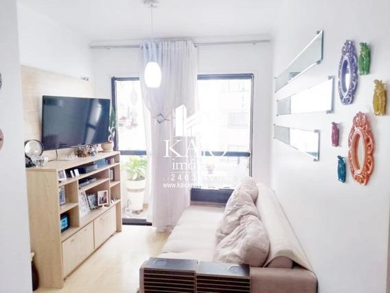 Apartamento De 67m² Com 3 Dormitórios 2 Vagas, Vila Rosália - Ap1126