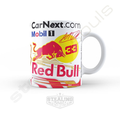 Taza De Porcelana Fierrera - Max Verstappen   Formula 1