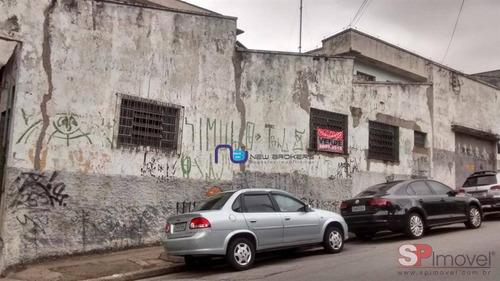 Imagem 1 de 10 de Galpão À Venda, 800 M² Por R$ 2.600.000,00 - Chácara Mafalda - São Paulo/sp - Ga0895