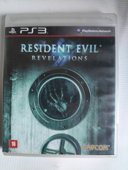 Resident Evil Revelations Ps3 Midia Física Semi Novo