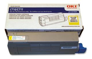 Toner Original Oki C711 Color 44318601 44318602 44318603