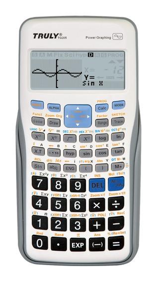 Promoção Calculadora Gráfica Truly Tg205 Por R$59.99 Grafico