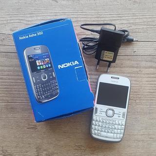 Nokia Asha 302 + Wi-fi + 3g + 3.2 Mpx + Cartão 2gb - Usado