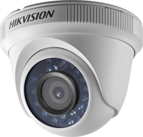 Imagen 1 de 2 de Camara Mini Domo Interior Hikvision Ds-2ce56c0t-ipf 1mp 720p