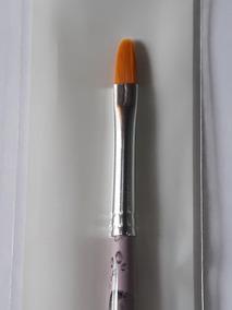 Pincel Para Adesivo De Unha 341-6 Língua De Gato Keramik
