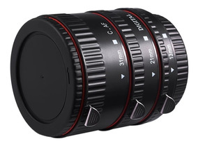 Tubo De Extensão Auto-foco Macro Para Lentes Canon Ef Ef-s