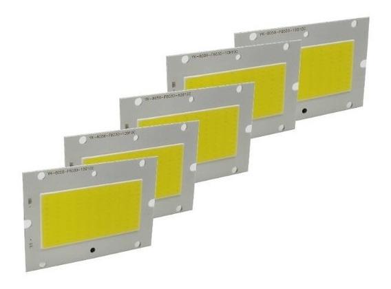 5 Chip Led 50w 100w Branco Frio 6000k20 Chip Led