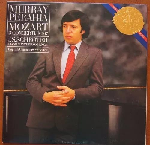 Murray Perahia & English Chamber Orchestra Mozart - Lp 1984