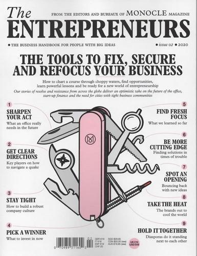 Imagem 1 de 1 de Monocle Revista Compacta: The Entrepreneurs 2020
