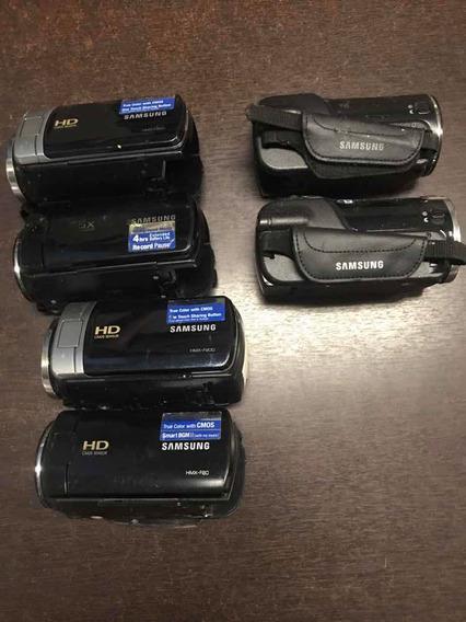 06 Filmadoras Samsung Sem Garantia Sucata