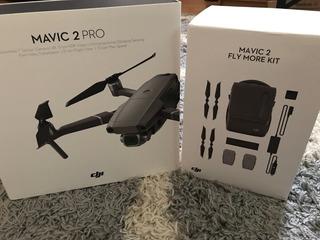Dji Mavic 2 Pro Con Dji Mavic 2 Fly Más Kit