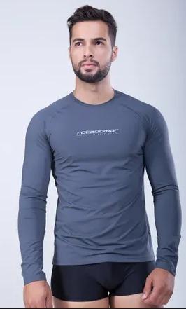 Camisa Térmica Segunda Pele Proteção Uv Original