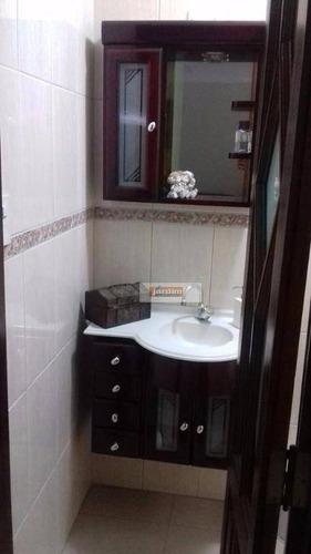 Imagem 1 de 2 de Sobrado Residencial À Venda, Jardim Milena, Santo André. - So1768