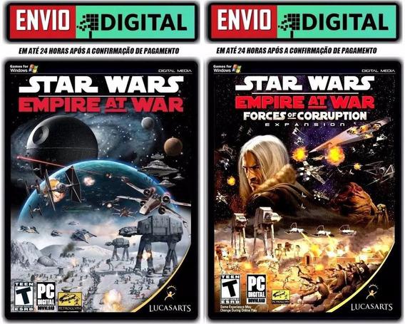 Star Wars Empire At War - Gold Pack - Pc - Envio Digital