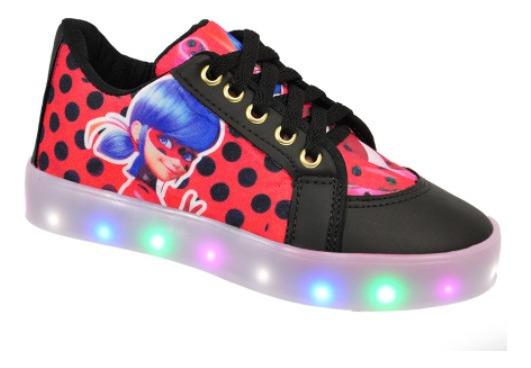 Tênis Ladybug Com Led