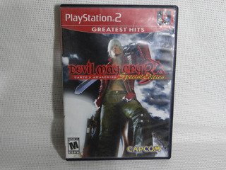 Devil May Cry 3 Special Edition Ps2 Greatest Hits