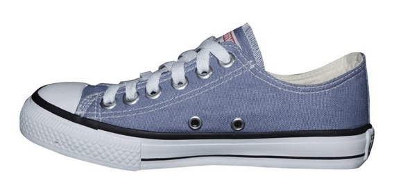 Tenis Converse All Star Ct Core Hi Azul Aço