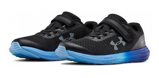 Tenis Under Armour 3 020485 005 Black/royal/pitch Gray Bps S