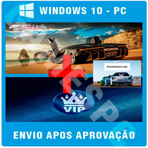 Forza Horizon 3 Pc - Hot Wheels + Blizzard Pc + Vip Car