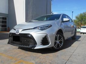 Toyota Corolla 1.8 Se Cvt 2018 Plata Demo