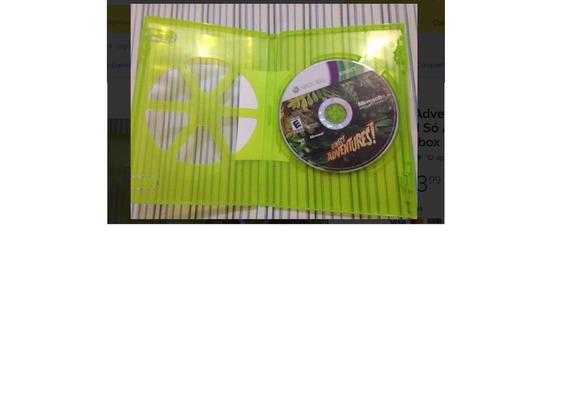 Xbox 360 Kinect Adventures Leia Tudo Só A Midia R$31,98