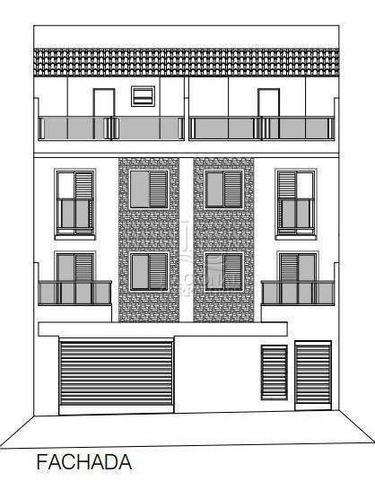 Imagem 1 de 20 de Apartamento Com 2 Dormitórios À Venda, 42 M² Por R$ 220.000,00 - Cidade São Jorge - Santo André/sp - Ap10811