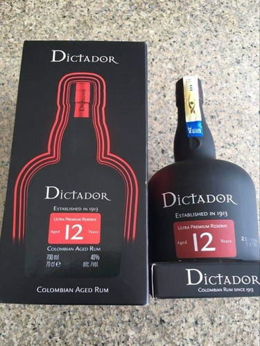 Ron Dictador 12 Años  700 Ml
