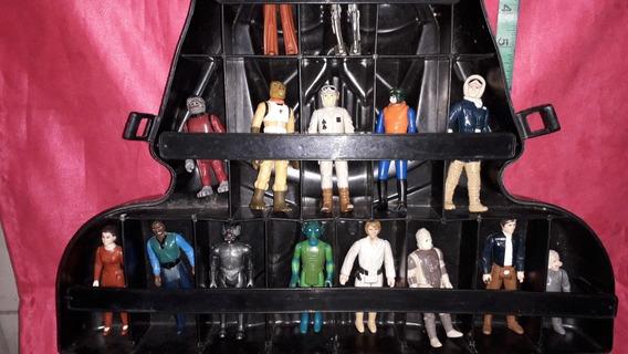 Case Dart Vader Set Figuras Vintage Starwars Excelente