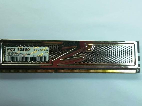 Memoria Ocz Pc3 12800 Gold Series ,2gb, Ddr3